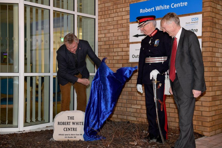 Photo of Robert White Centre opening ceremony