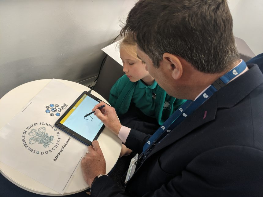 Dorchester school showcasing technology