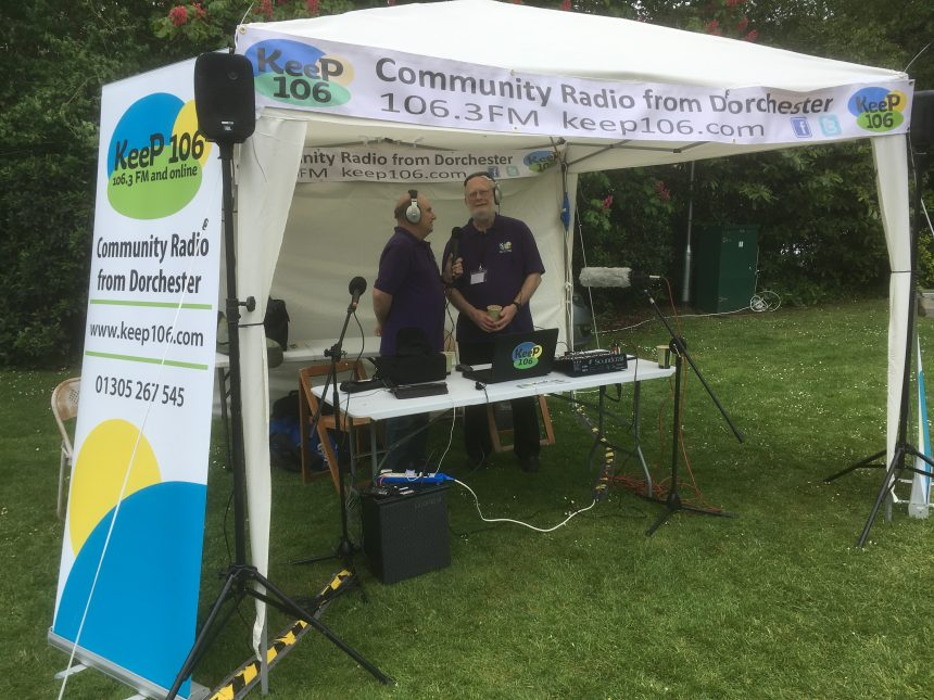 Photo of Rob Mott and Andy Worth at Picnic In The Park