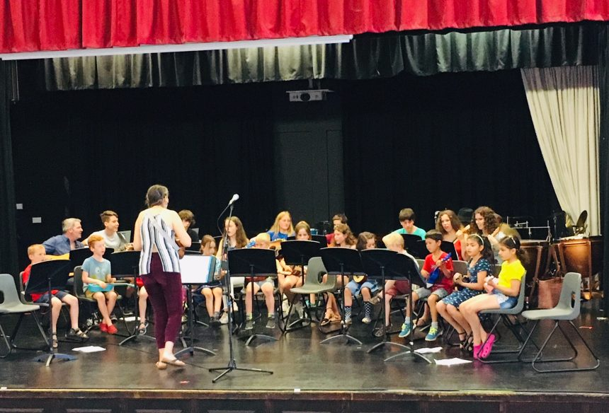 Photo of young musicians performing at DASP Festival