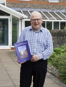 Photo of Richard Purvis with new book