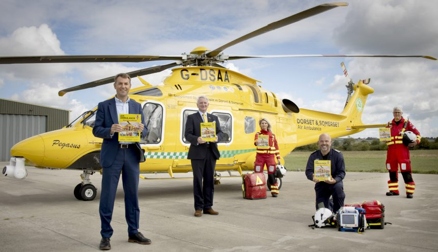 Celebrating the new Haynes Air Ambulance Manual Group shot