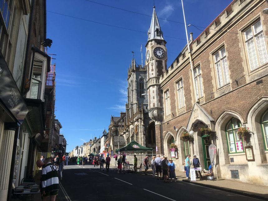 Dorchester's High Street free of traffic