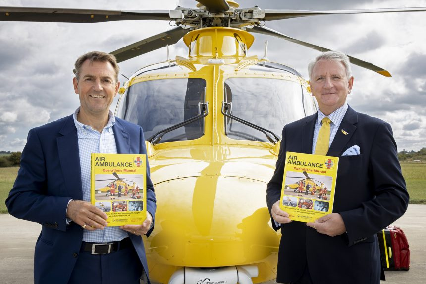 James Bunkum (Haynes Chief Operating Officer) (left) and Bill Sivewright (DSAA Chief Executive)