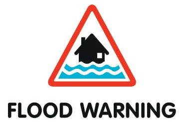 Flood Warning for Upper Frome at Maiden Newton