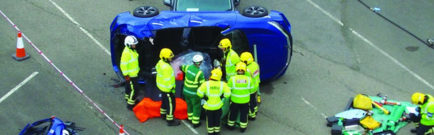 Fire Service supports National Road Safety Week