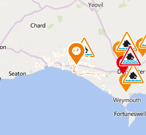 Flood Alert West Dorset rivers and streams
