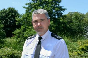 Photo of Chief Constable James Vaughan