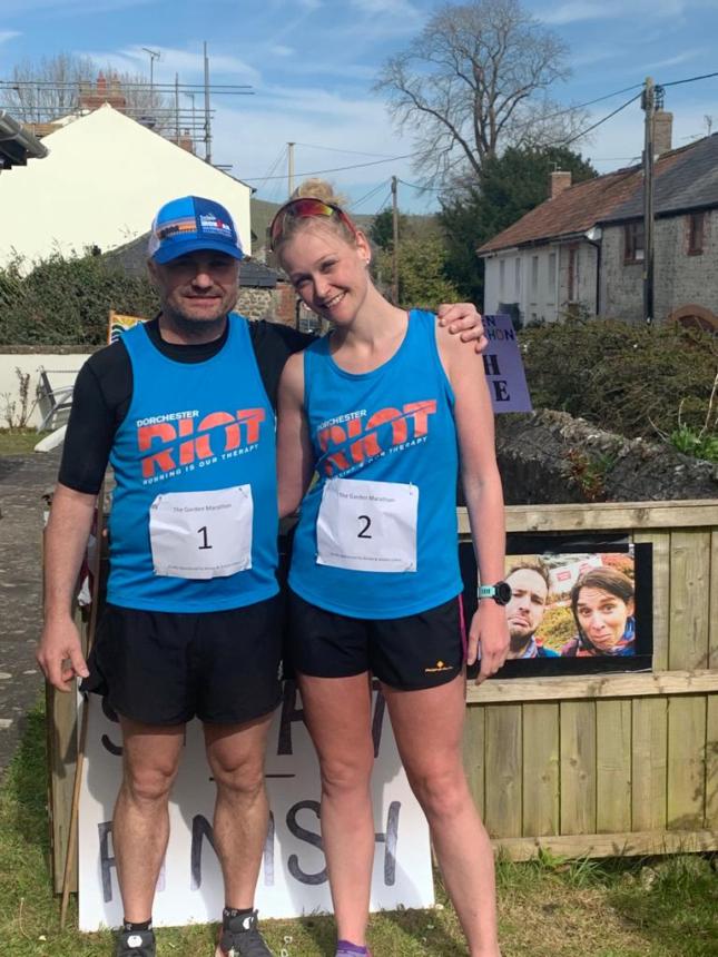 Marathon success raises over £2000
