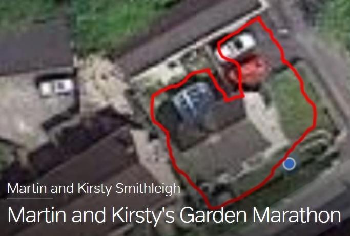 Martin & Kirsty's Garden Marathon