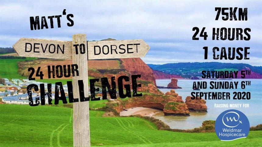 24 hour Devon to Dorset challenge