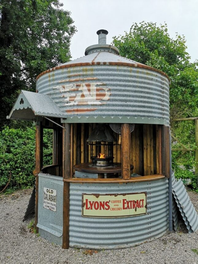 The Silo BBQ Shed