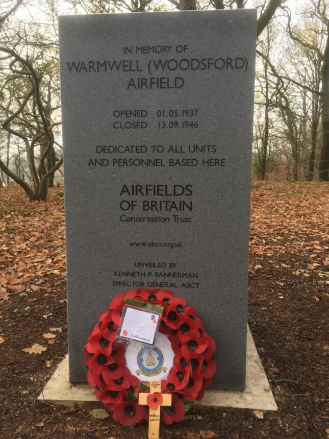 Warmwell Airfield Memorial