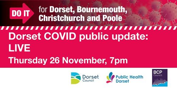 Live COVID Update for Dorset