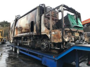Depot fire cause revealed