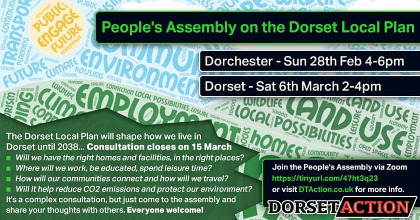 UPDATED: Invitation from Dorset Action to discuss Dorset Local Plan via Zoom