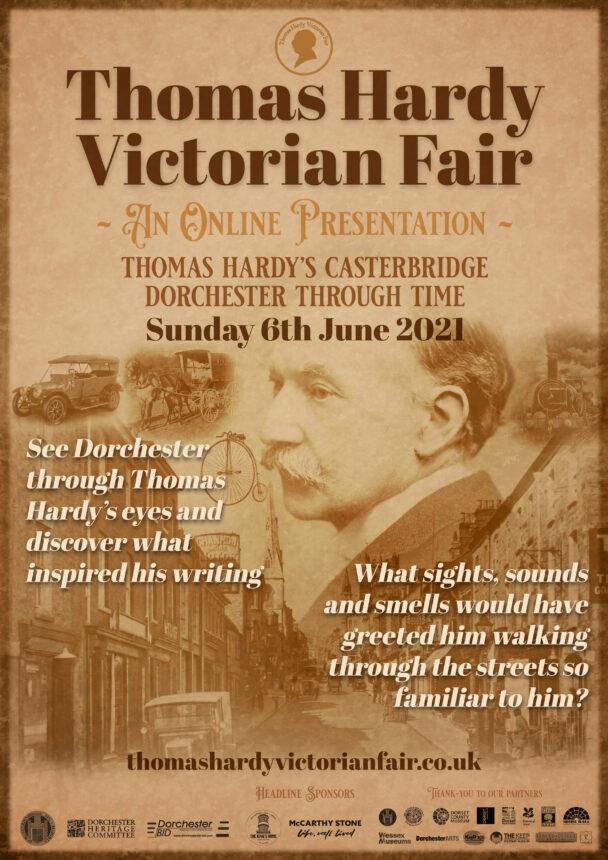 Thomas Hardy Victorian Fair poster