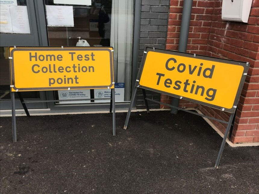 Covid testing centre