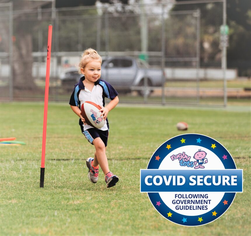 Rugbytots feature - covid secure classes
