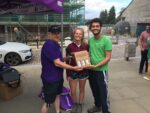 Brewery Square live broadcast - Prizewinners