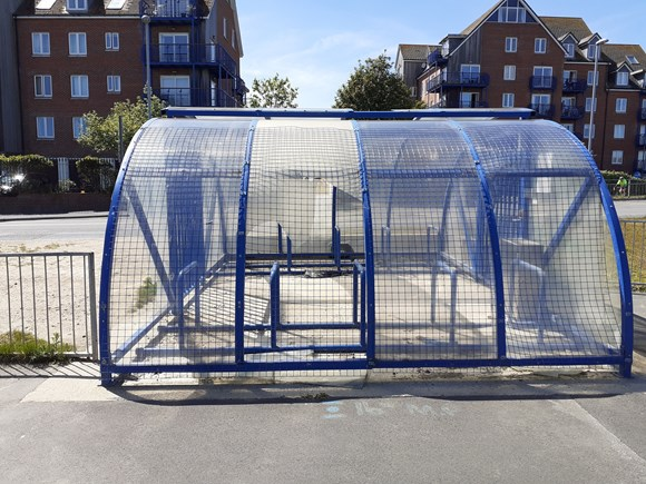 Council to remove Westham Bridge Cycle Shelter