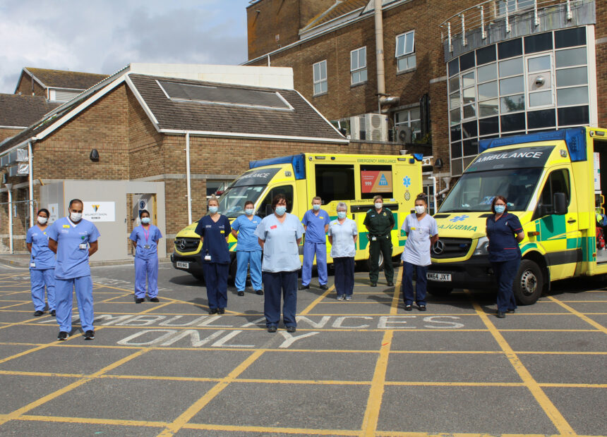 Dorset County Hospital is one of the top 10 in the country for emergency care