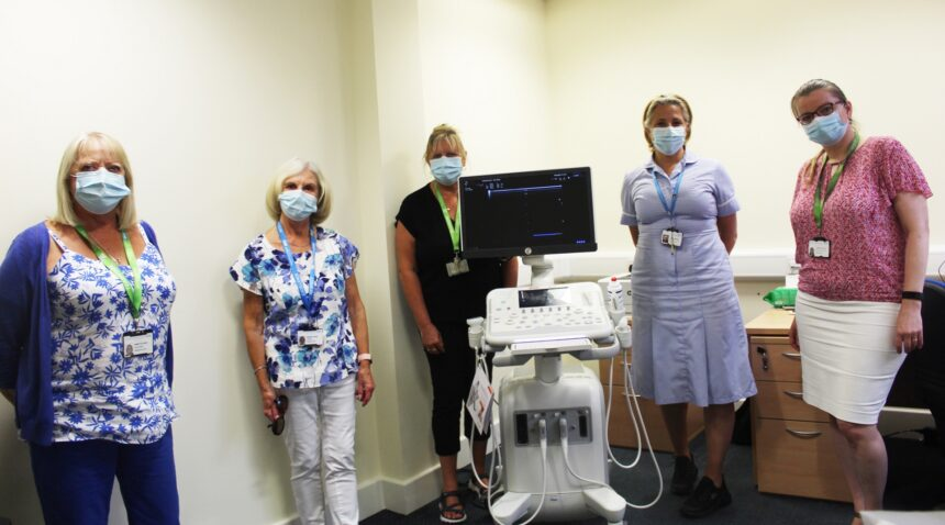 New ultrasound machine will further improve patient care